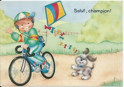 CPM - Postcard - Salut Champion