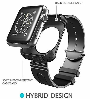Apple Watch Case, i-Blason Rugged Protective Case with Strap Bands for Apple / /
