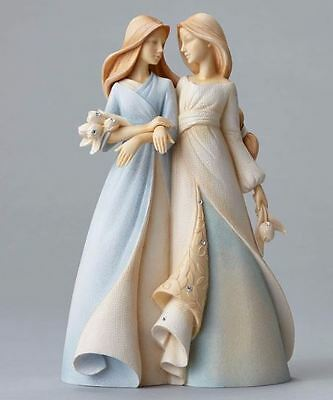Foundations - Sister To Sister Figurine - 4047743 - NIB!