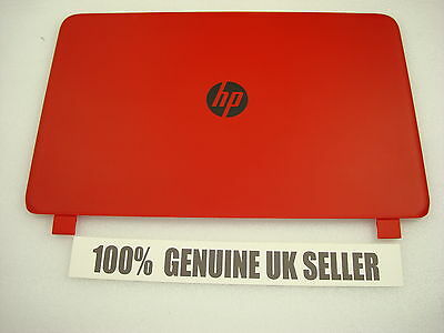 HP Pavilion 15-p087sa Laptop Lid Rear Screen Plastic Cover RED