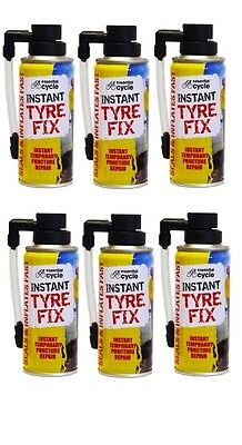 6 X 200ml Instant Quick Puncture Repair Bike Tyre Fix Sealant Bicycle Cycle New