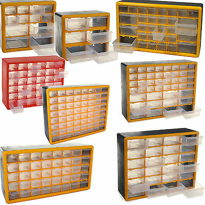Storage Organisers Drawers Tools Screws Nails Bolts Craft Beads Fishing