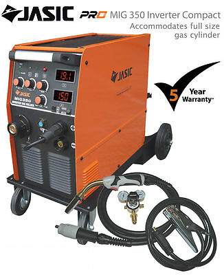 Jasic PRO MIG 350 AMP Inverter Compact 400V 3 Phase Welder MMA Stick Machine