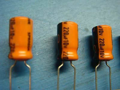 220uf  6.3V 10/% E CASE TANTALUM CAPACITORS 293D227X96R3E2T SPRAGUE QTY 50