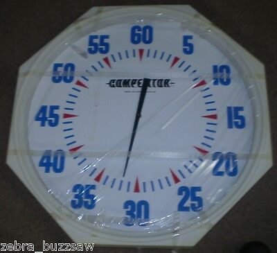 31 inch Competitor Brand White Face Pace Clock