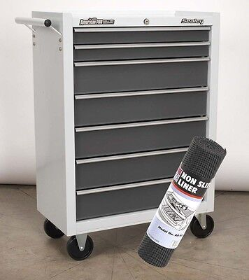 Sealey AP22507BB Rollcab 7 Drawer Tool Box Chest with Non Slip Liner