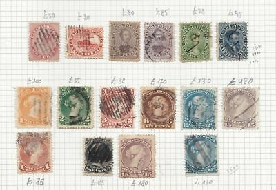 1851-1935 CANADA - LOT USED 173 stamps   SG over £ 3.000