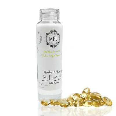 PURE NATURAL VITAMIN E OIL CARRIER MASSAGE AROMATHERAPY HEALING OIL 2 oz XW