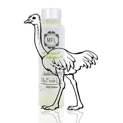 AUSTRALIAN EMU OIL ORGANIC TRIPLE REFINED by H&B Oils Center 100% PURE 2 oz XW