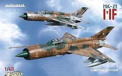 MiG-21MF in Czech and Czechoslovak service - Limited Edition - 1:48 Eduard 1199