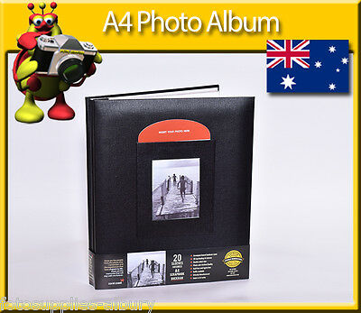 12x12 Photo Scrapbook Album 20 Top Loading Pages - Refillable Pages
