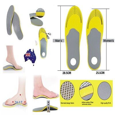 New 1Pair Orthotic Arch Support Shoe Insoles Pads Pain Relief Men/Women