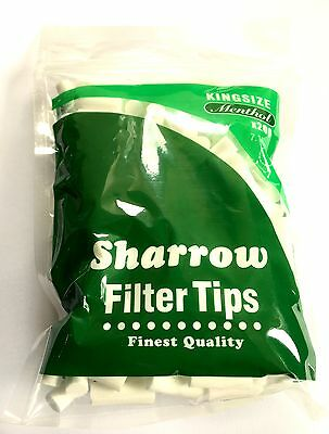 1 2 4 10 12 X 200 SHARROW Filter Tips Kingsize Menthol 200 in a Bag Finest