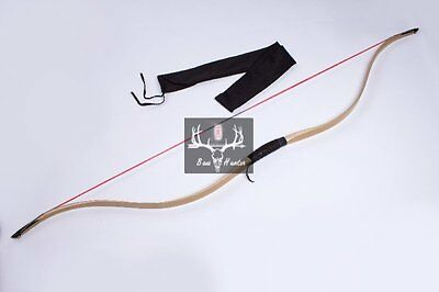 20-55Lbs Handmade Horsebow Maple Laminated Bow Longbow Recurve Bow