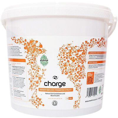 Ecothrive Charge 10 Litre Nutrients Soil Hydroponics Organic Insect Frass
