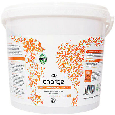Ecothrive Charge 10L Hydroponic Grow Room Organic Soil Conditioner & Biostimulan
