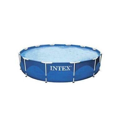 "Intex Metal Frame Pool 12ft x 30"" No Pump - 28210"