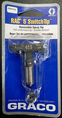 Graco 286415 RAC 5 Switch Reversible Paint Spray Tip 415