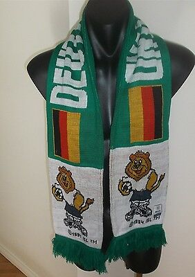 Uefa Euro 96 England Deutschland Football Soccer Scarf Good Condition