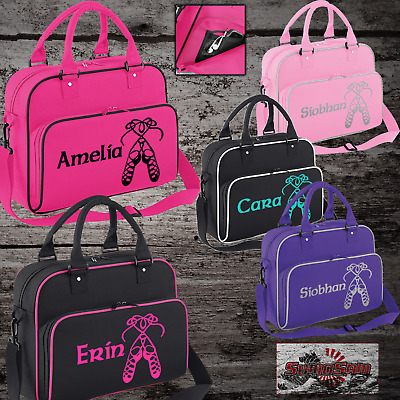 Girls Personalised Irish Dancing Shoulder Bag Free Printing Dance Accessories