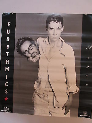 1999 Eurythmics Peace Record Store Promotional Poster