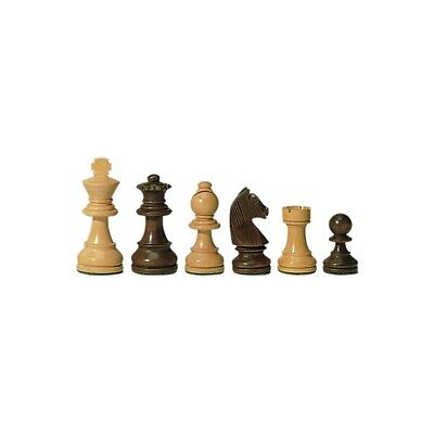 Chess figures - Staunton - brown - Kings height 70 mm