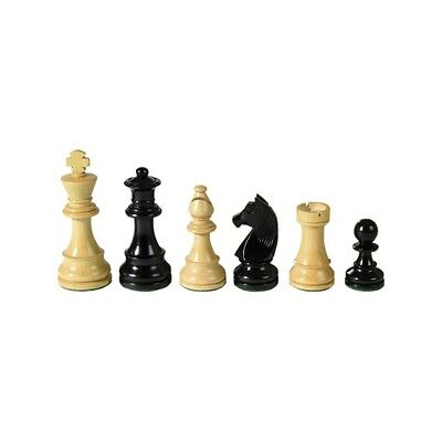 Chess figures - Staunton - black - Kings height 89 mm - weighted