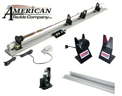 Power Fishing Rod Wrapper  (APW-220), rod dryer, 4' base, 1 extra rod support