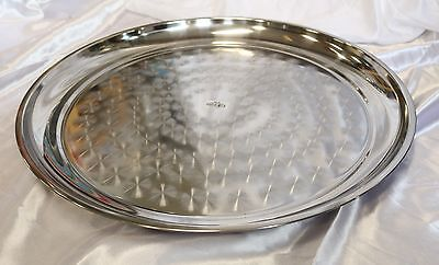 New 60cm Stainless Steel Round Tray 21769