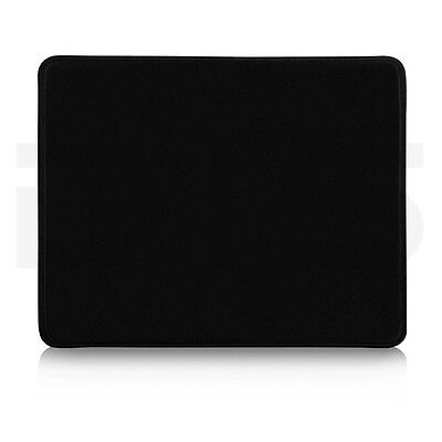 Black Large Cloth Rubber Optical Mouse Mat Mice Pad for Game PC Laptop Computer