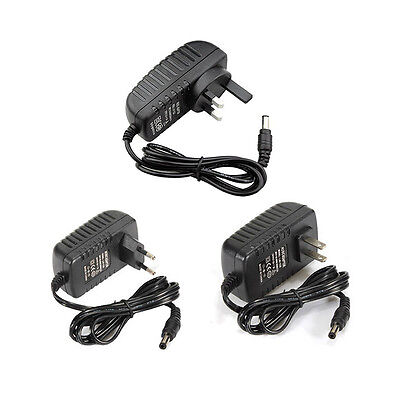 AC 100-240V to DC 12V 2A Power Supply Adapter Charger Converter LED Light Strip