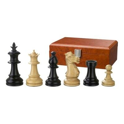 Chess figures - Macrinius - Wood - Royal - Staunton - Kings height 83 mm