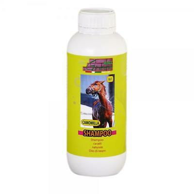 Natural Equine Shampoo Insect Repellent Special Neem Horses Refreshing 1 Lt