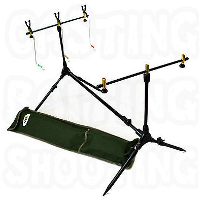 Ngt Complete Session Pod Carp Coarse Fishing Rod Rests Indicators Buzz Bars New