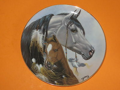 """""""Gift For A Princess"""" Danbury Mint Collector Plate Heritage Of Horses Series"""