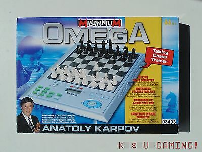 Millennium Omega Talking Chess Trainer By Anatoly Karpov VGC