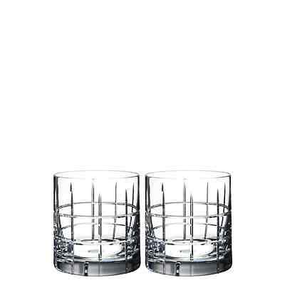 Orrefors Street Double Old Fashioned Set of 2