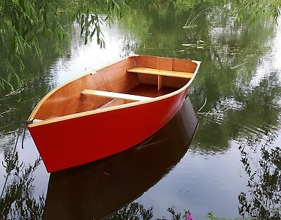 Boat Building Plans for PEVENSEY 10 Ply Dinghy with FULL SIZE PAPER PATTERNS