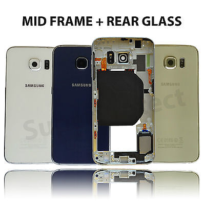 Genuine Samsung Galaxy S6 Chassis Frame Bezel Metal Housing Rim G920F - 3XCOLOUR