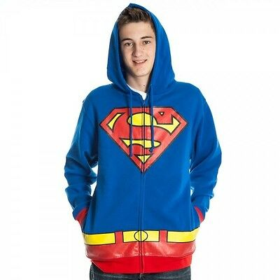 Superman Costume Hoody XL Brand New