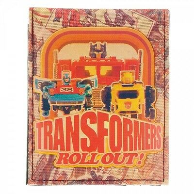 Transformers Sublimated Print BiFold Wallet Brand New