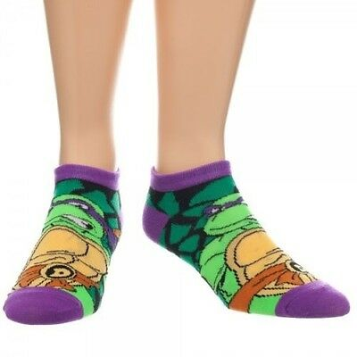 TMNT Donatello Ankle Socks Brand New
