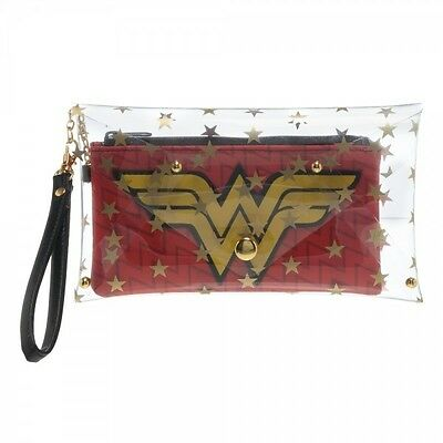 DC Comics Wonder Woman Clear Env W/Wrist Strap Brand New