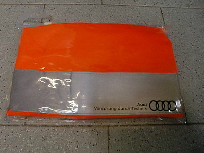 Audi Original High visibility vest Set 2 Pieces Orange 8X0 093 056 A
