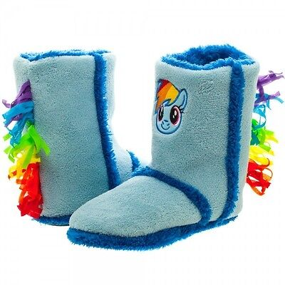 Mlp Rainbow Dash Boot Slipper-4Pk Brand New