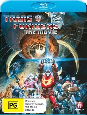 Transformers The Movie Region B Blu-ray New!