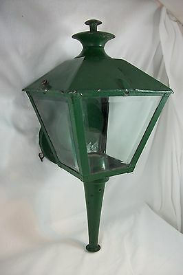 Vintage Outdoor Porch Sconce Moe Lighting Mid Century Lantern Wall light Fixture
