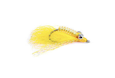 Fly Fishing Flies Crazy Charlie Brown x 6 Bonefish Permit Trout Redfish Bass