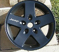 Jeep Wheel Decals (4 Total)