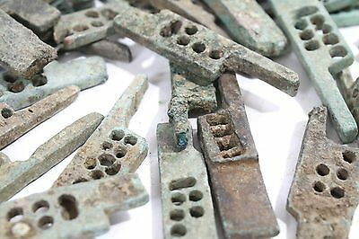 Ancient Greco Roman Bronze Door Lock Bolt Circa 100 to 400AD